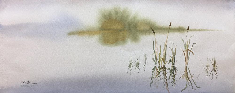 Kelly Lamarr Boren - calm cattails.jpg
