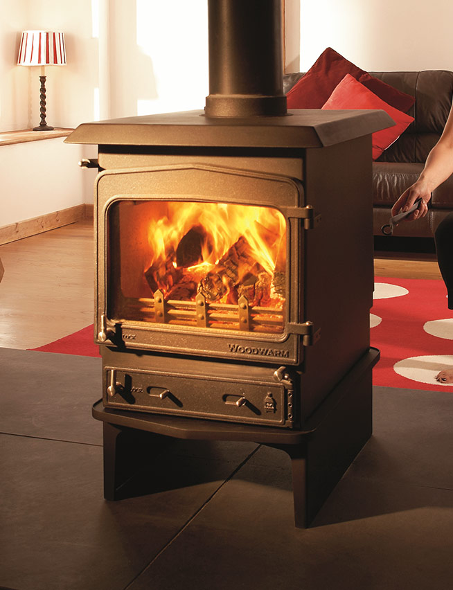 Woodwarm Fireview Double Sided Flat Top
