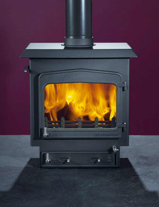 Woodwarm Fireview slender 7kW