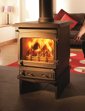 Woodwarm Double sided stove