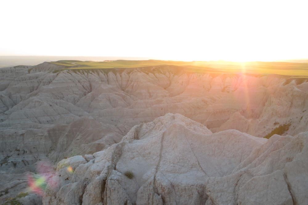 Sunset Over the Plain