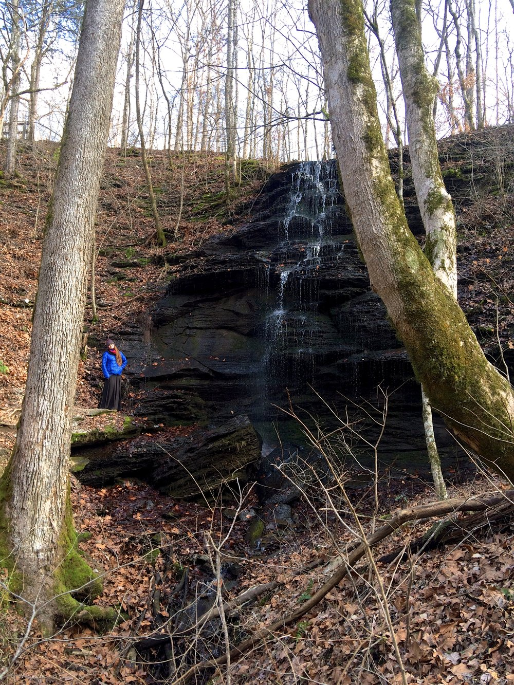 Little waterfall at Fall Hollow
