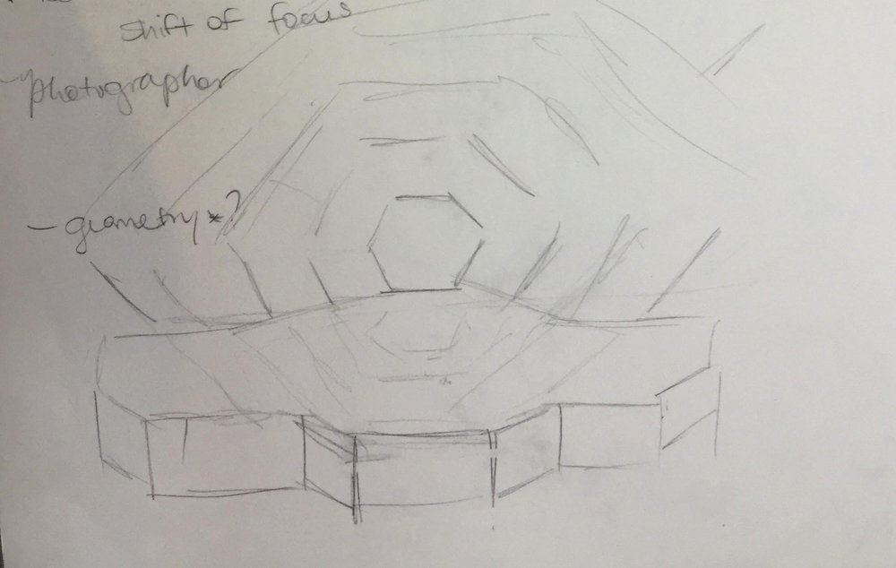 DGC Awards Initial Concept Sketch by Michelle Tracey