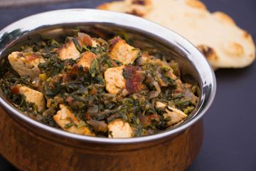 Geeta Maini preserves family heritage through this recipe for Palak Paneer Ka Milaap