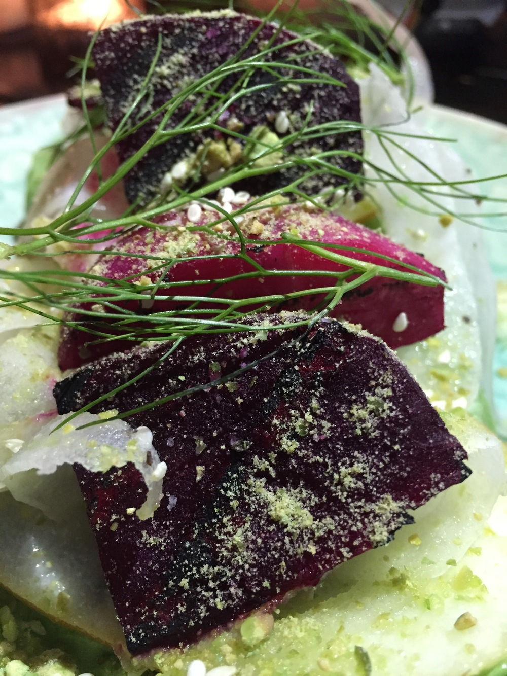 Beet Poke Salad