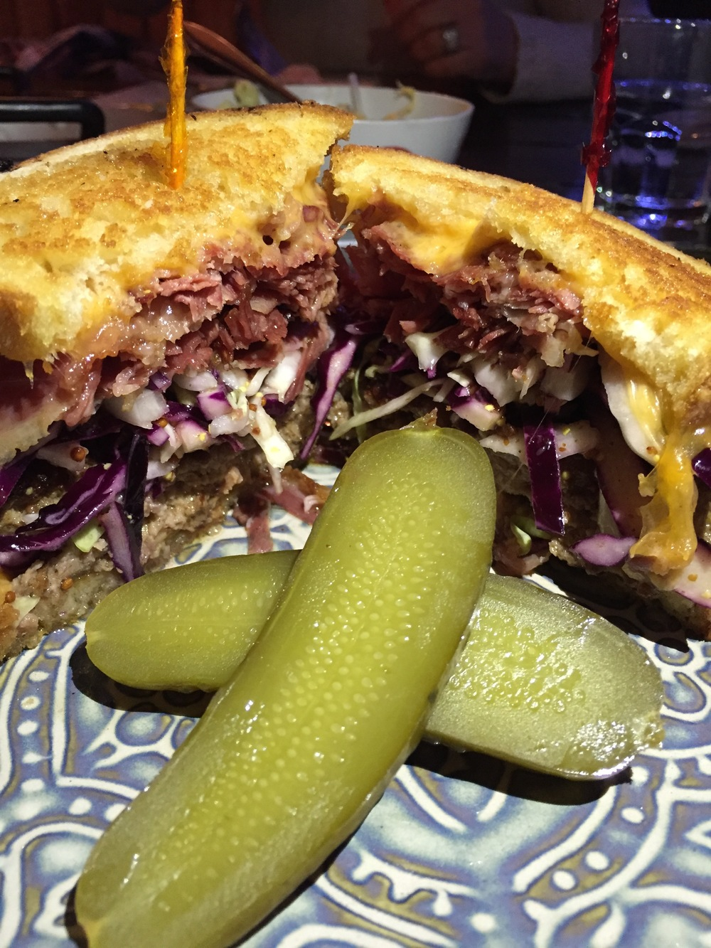 Montreal Smoked Patty Melt