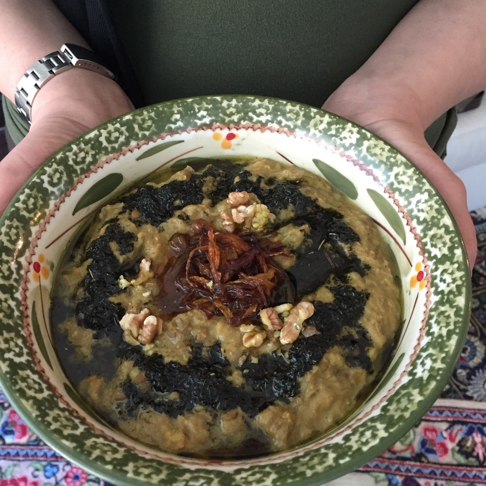 Halim Bademjan Eggplant Spread.