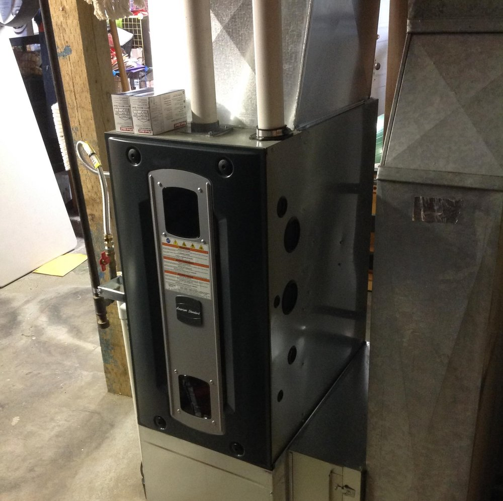 Gas Furnace Replacement in North Tacoma, Wa (Pierce County).