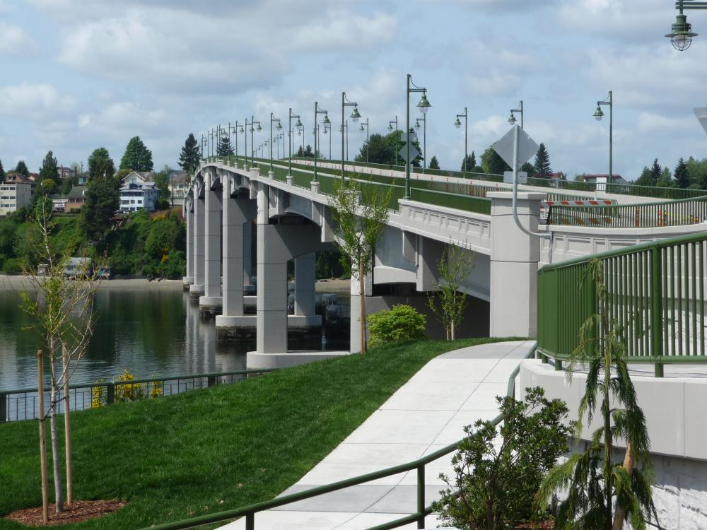 Manette Bridge in Bremerton, Wa.
