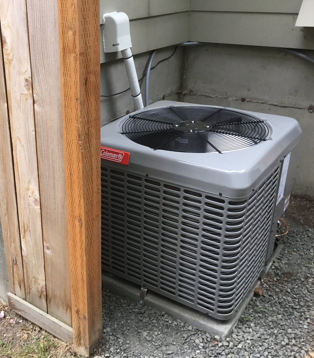 Air Conditioner Installation in Federal Way, Wa (King County).