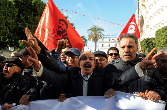 Tunisia's protests are a wake-up call for leaders    Middle East Institute, January 23, 2018   Tunisians today need visionary politicians that think beyond the next elections. They need policymakers who don't just look to extinguish sporadic fires, but who look to address the roots of the many economic hurdles they face. The political elite should listen closely, because Tunisians today are not just protesting tax increases. They are expressing their unfulfilled expectations.