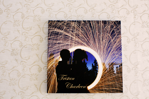 Image Wrap Wedding Album