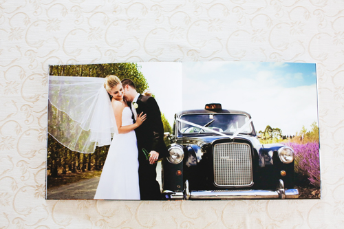 Lay-Flat Panoramic Wedding Album