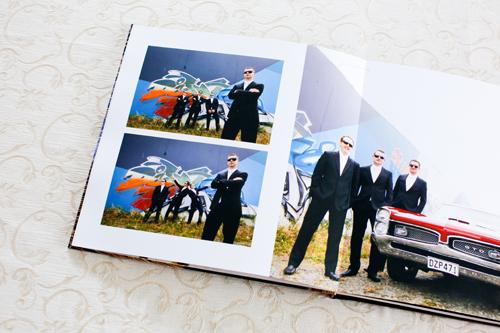 Pure Luster photo paper wedding album