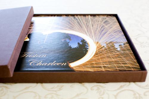 Wedding album presentation box