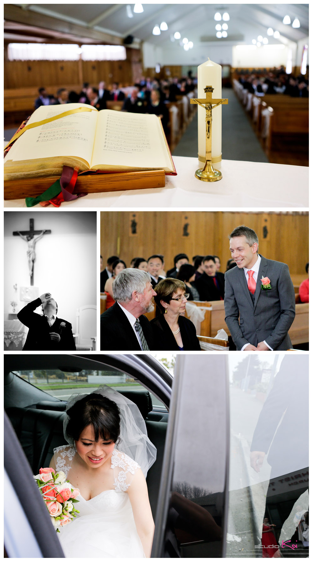Christ the King Catholic Church wedding