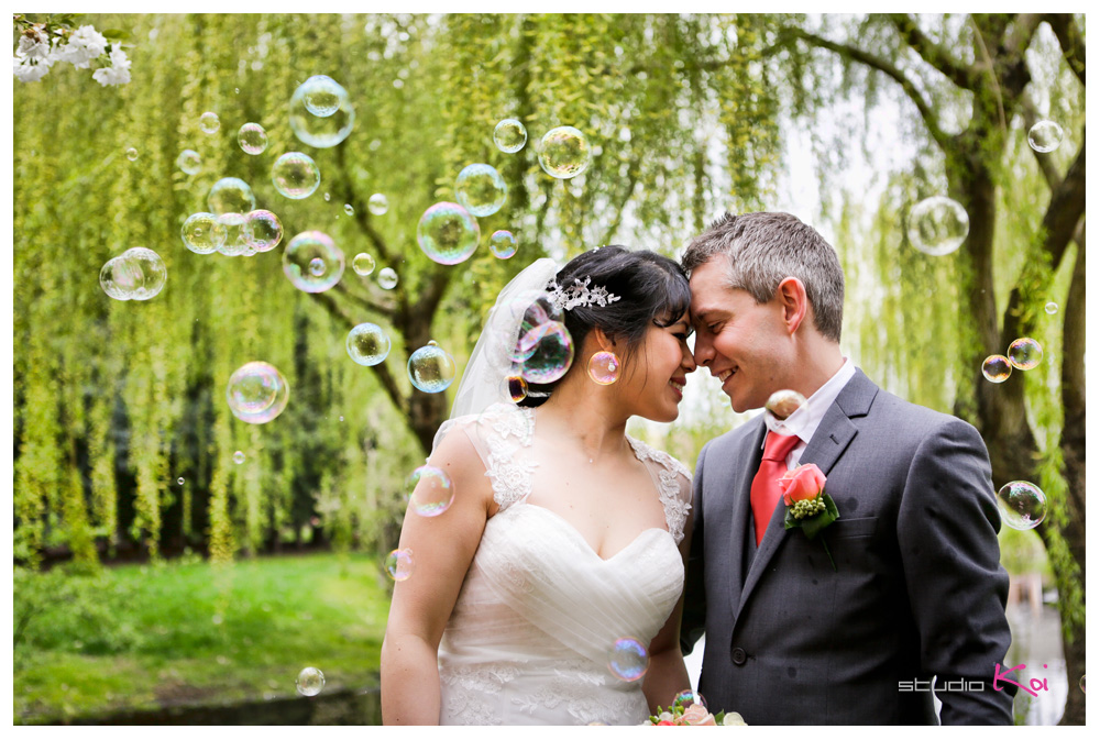 Christchurch Garden wedding