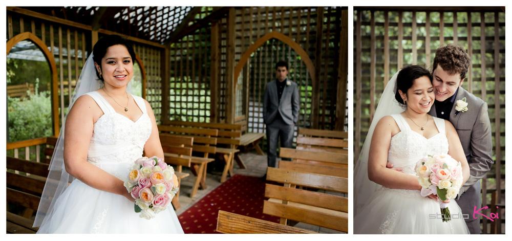Gethsemane Gardens Christchurch wedding