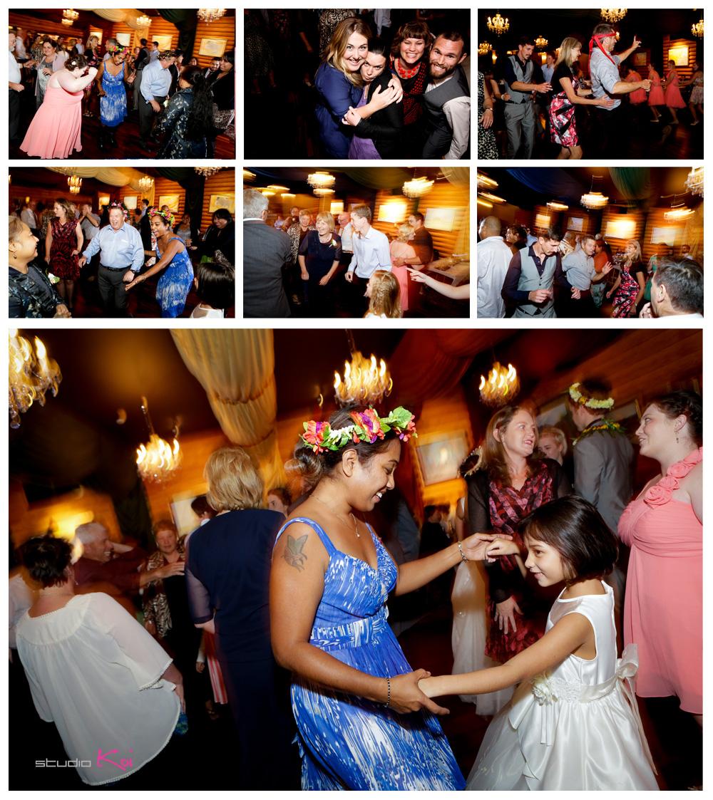 Gethsemane Gardens Christchurch wedding dancing