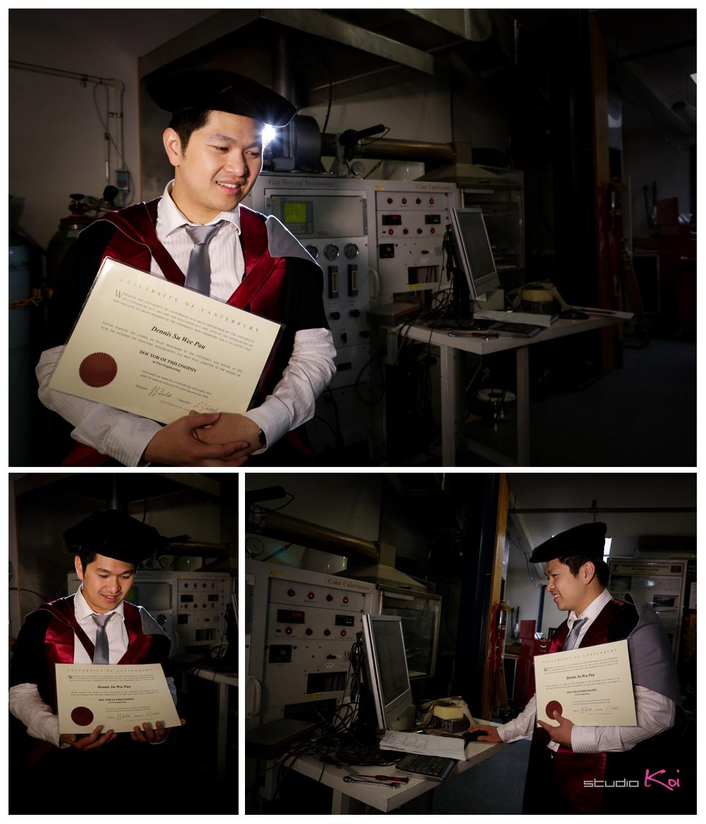 University graduation photos