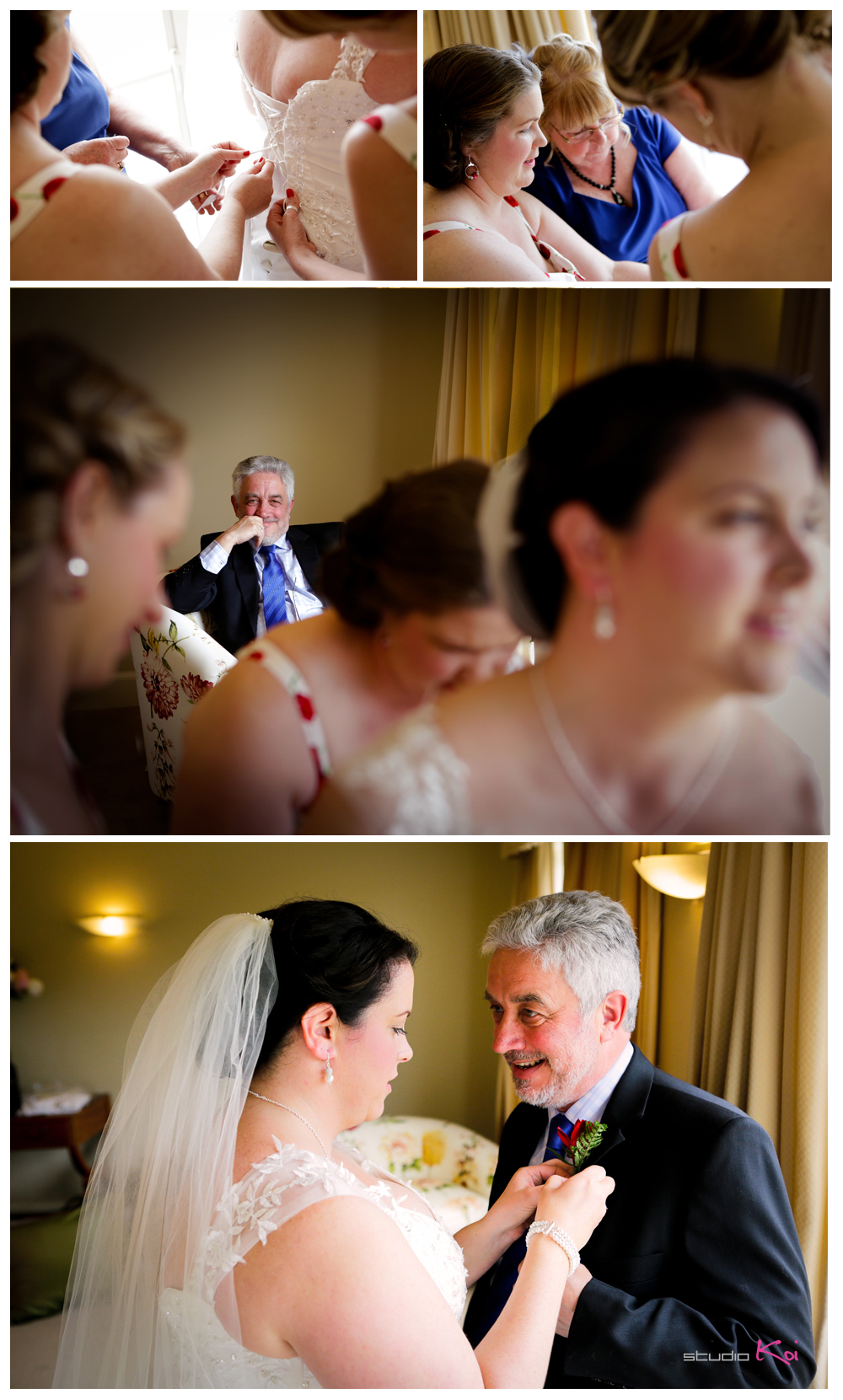 Stoneleigh Lodge Christchurch wedding