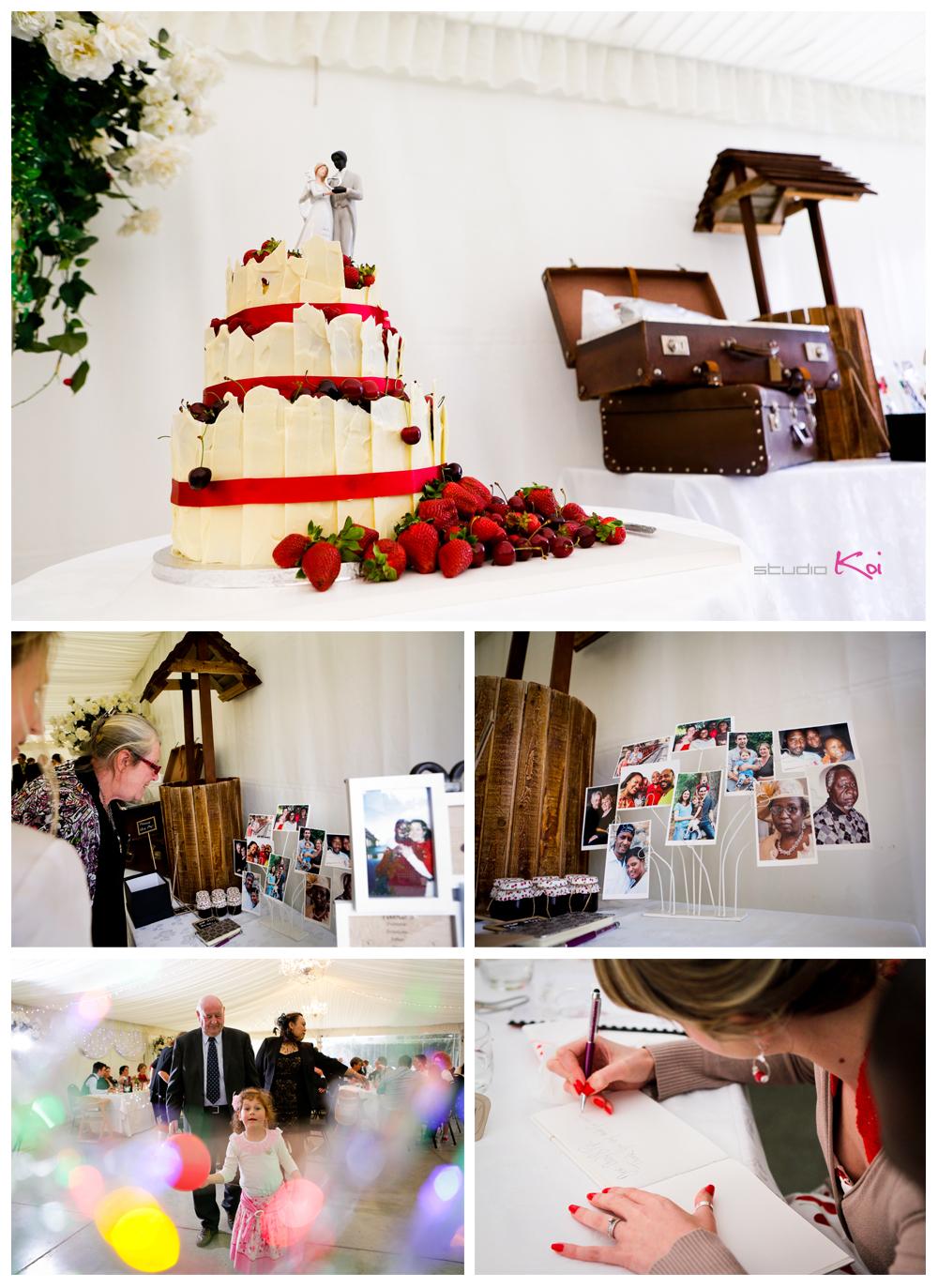Rosemount E  state Wedding reception in Christchurch