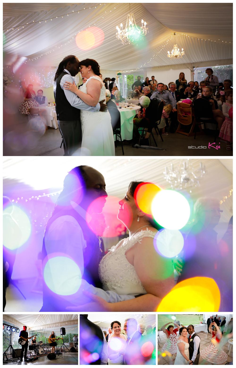 Rosemount E  state Wedding first dancein Christchurch