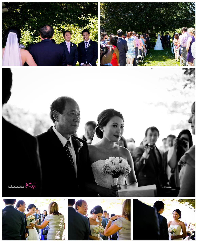 rossendalevineyardwinerywedding ceremony christchurch