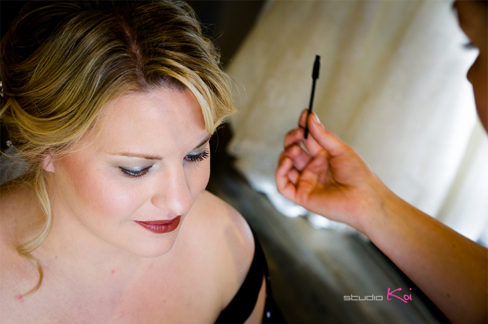 bride getting ready wedding Christchurch photography