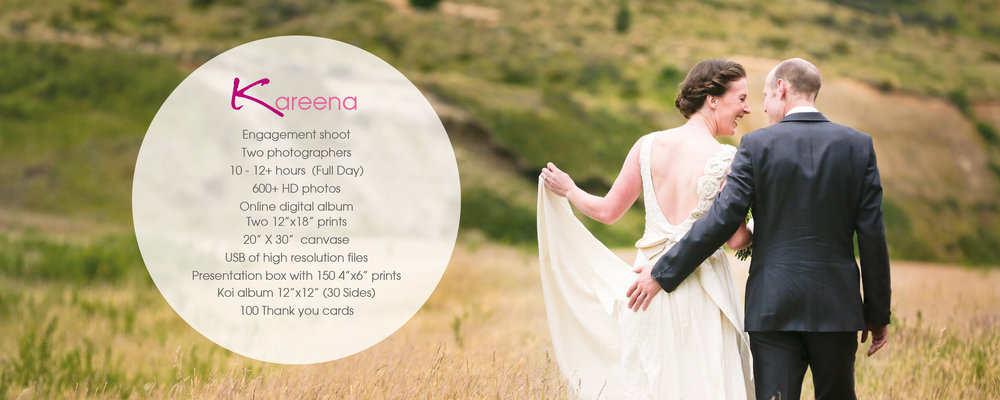 Christchurch wedding photographers packages