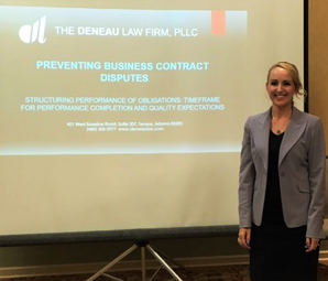 Kindra Deneau: Part 1 Preventing Business Contract Disputes