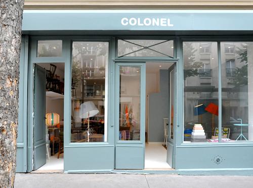 Colonel Paris - Design hunting www.studioacco.be