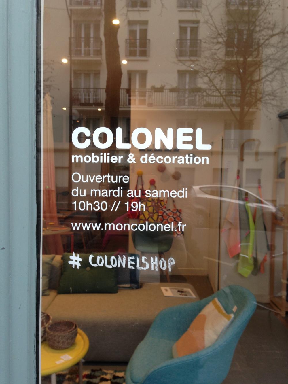 Colonel Paris Design hunting www.studioacco.be