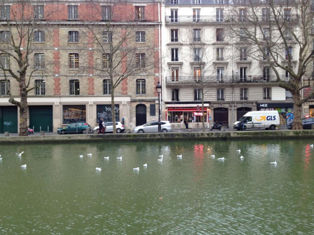 Canal Saint-Martin Paris - Deisgn hunting www.studioacco.be