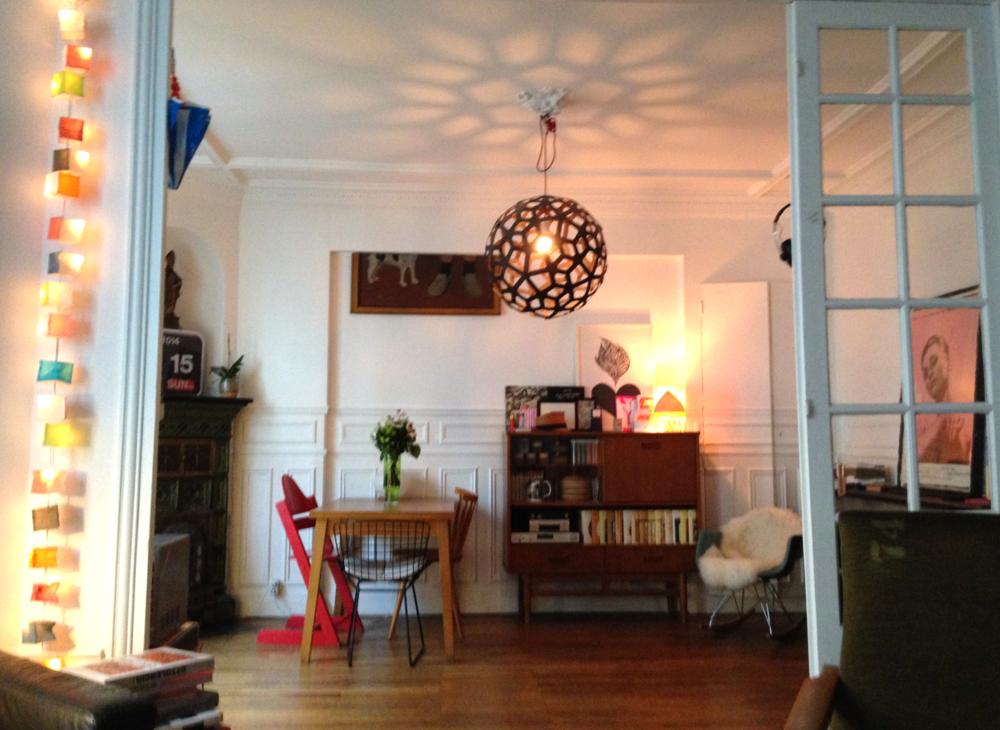 Vintage design flat Paris - Studioacco.be