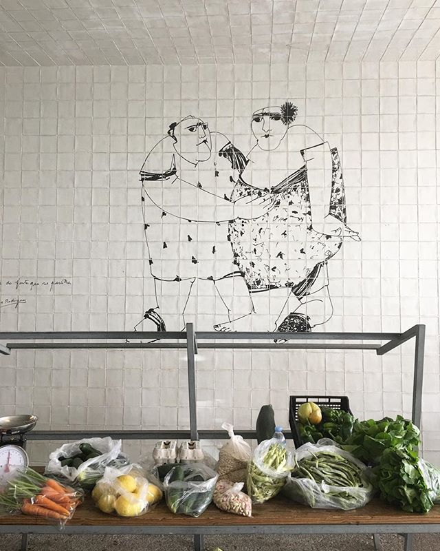 Vegan street art