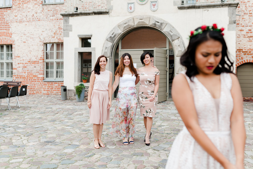 international dream wedding in Brandenburg