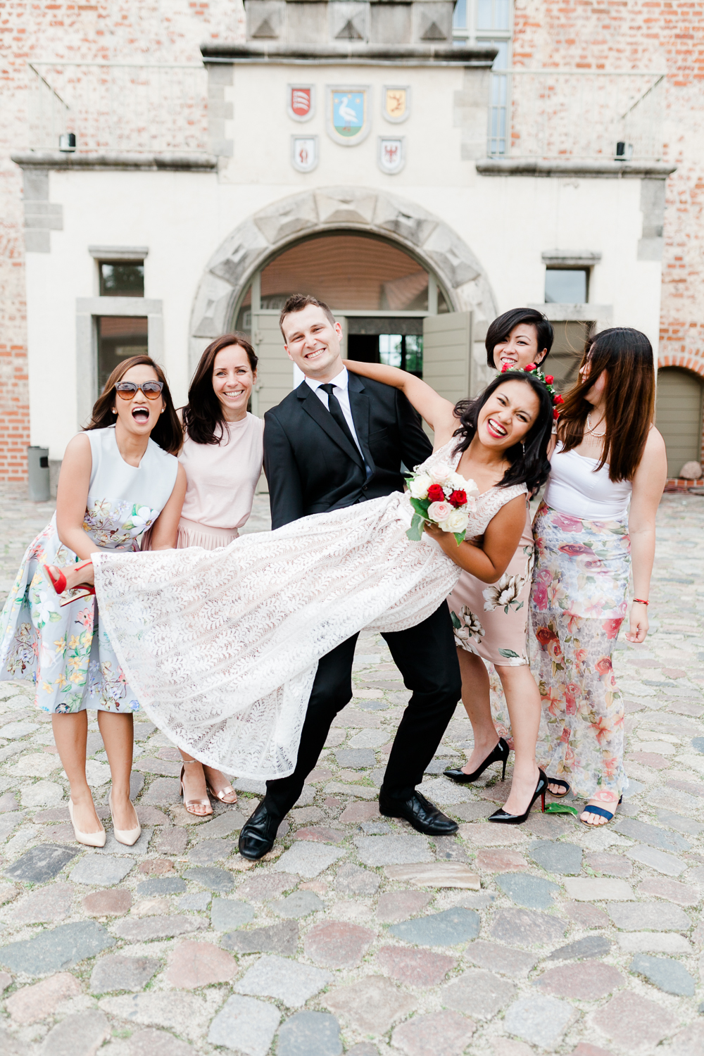 international dream wedding in Brandenburg