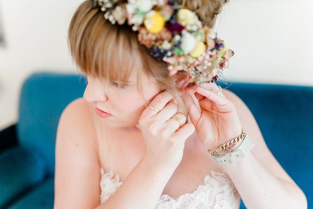 boho wedding with beautiful details