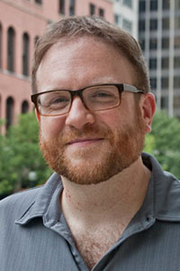 Gareth Higgins, film critic, author, and festival founder