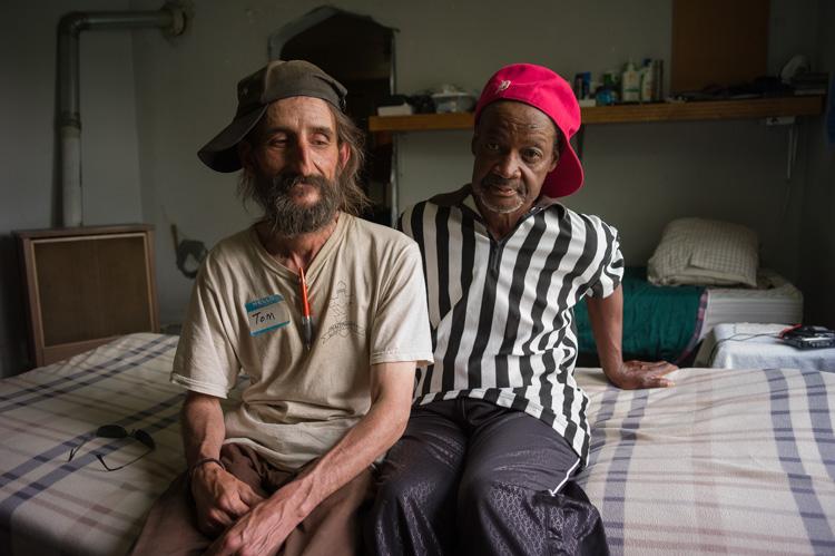 Tom and Harris in residency