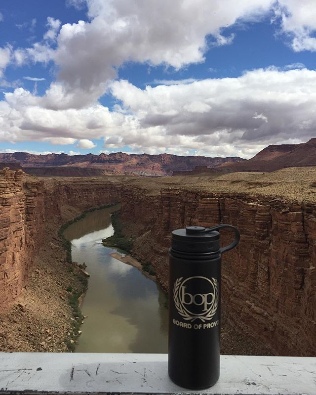 "467"" above the Colorado River! @fiftyfiftybottles"