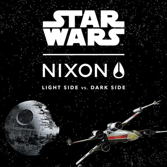 In honor of May 4th we are offering a limited time sale on all @nixon_now @starwars watches to 25% off from now through Saturday.  #maythe4thbewithyou
