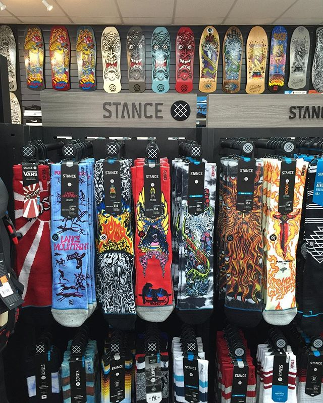 Just got new #skatelegends @stancesocks in this week to. @jasonjessee @lancemountain  @tomknoxskate @christianhosoi @tommyguerrero  So good! 👍🏼