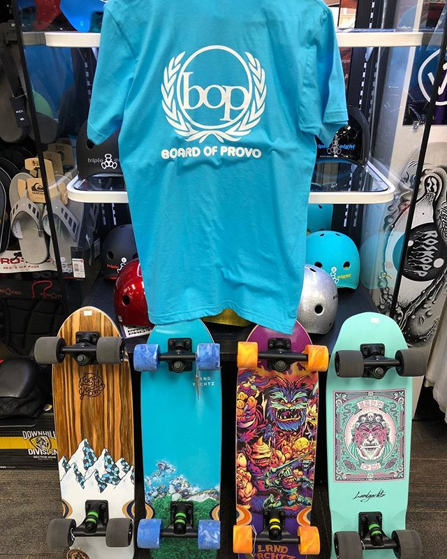 Now for a limited time we are offering free shop tee with skate or Longboard complete purchase. All colors & sizes available. Guaranteed biggest selection and best prices on all types skateboards.