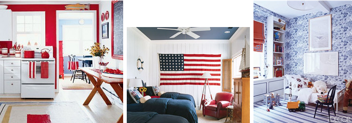 In the spirit of the 4th of July we find it appropriate to showcase a furniture piece that has become a classic in American Interior Design. & Styling in Red White \u0026 Blue \u2014 Shanna Shryne Design
