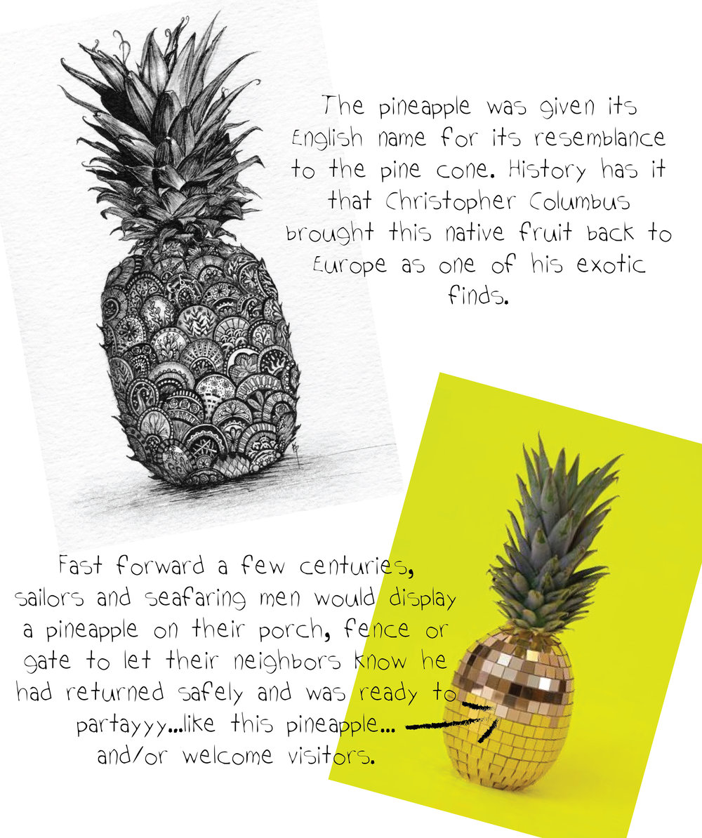 Aloha How To Decorate With Pineapples Shanna Shryne Design