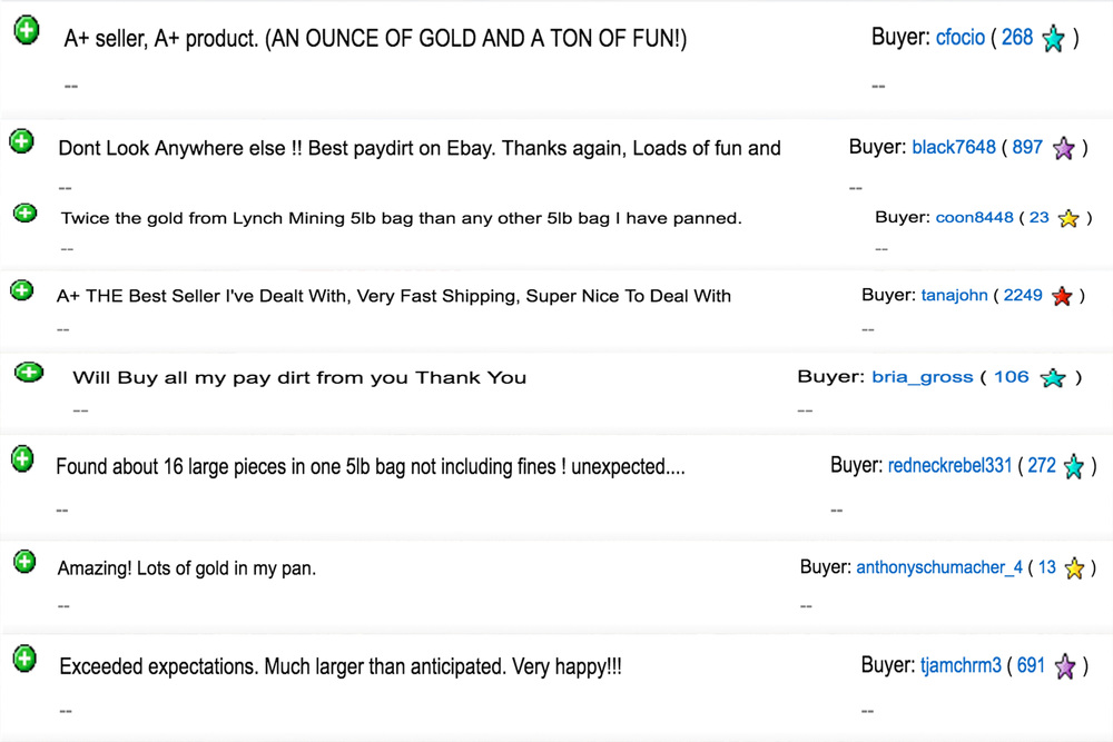 The Best Paydirt On Ebay