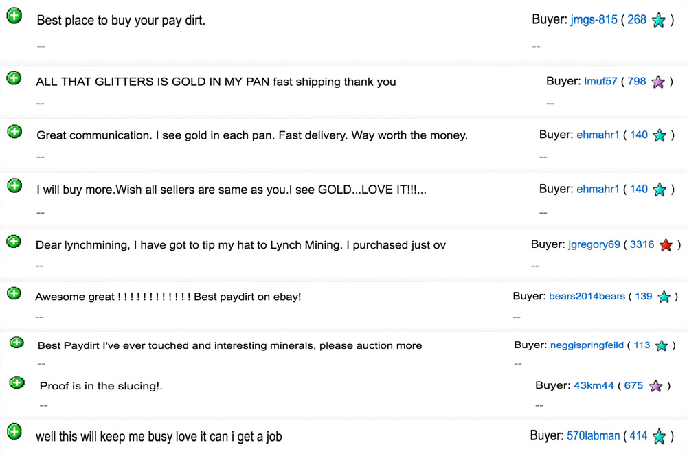 Why You Should Not Buy Paydirt On Ebay. Learn From My Mistakes.