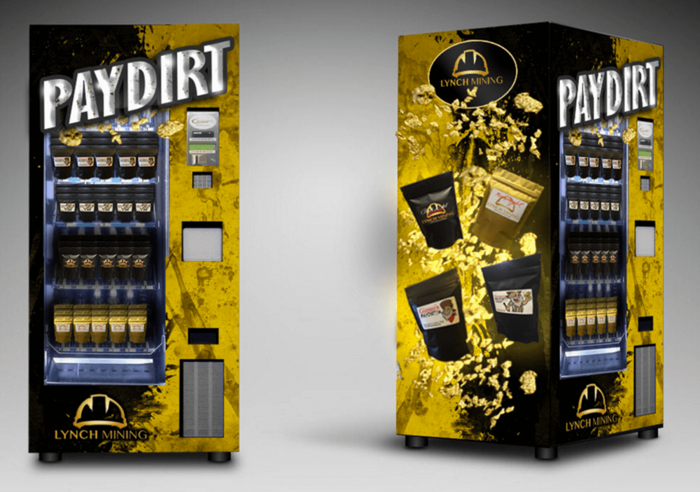 gold vending machine locations